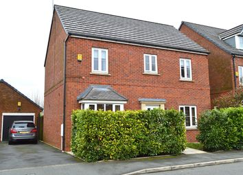 Thumbnail 4 bed detached house for sale in Windmill Close, Royton, Oldham