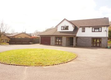 Thumbnail 5 bed detached house for sale in Park Drive, Bargoed, Caerphilly
