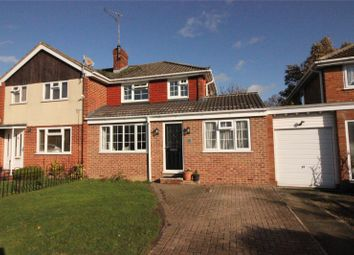 Thumbnail 4 bed semi-detached house for sale in Dartington Avenue, Woodley, Reading, Berkshire