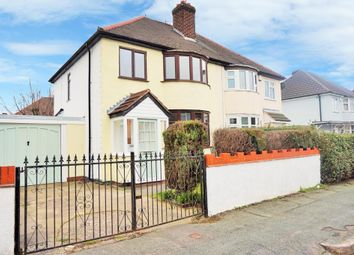Thumbnail 3 bedroom semi-detached house for sale in Welbeck Avenue, Wolverhampton