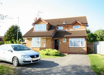 Thumbnail 4 bed detached house for sale in Peppercorn Way, East Hunsbury, Northampton