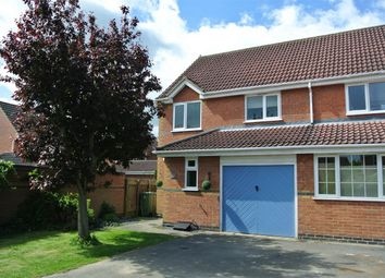 Thumbnail 3 bed semi-detached house for sale in 11 Paddington Way, Morton, Bourne, Lincolnshire