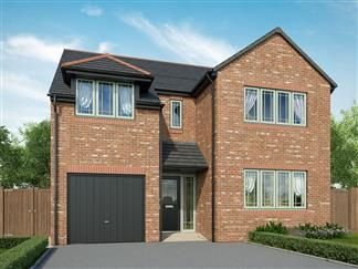 Thumbnail 4 bed detached house for sale in Rede Place, Dinnington