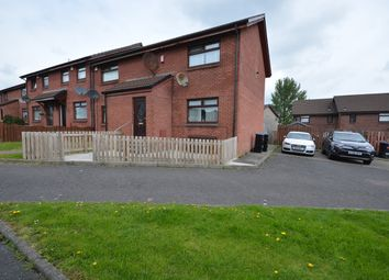 Thumbnail 2 bedroom end terrace house for sale in Witchknowe Court, Kilmarnock