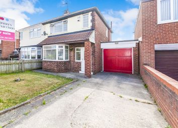 Thumbnail 3 bed semi-detached house for sale in Kingsley Avenue, Hartlepool