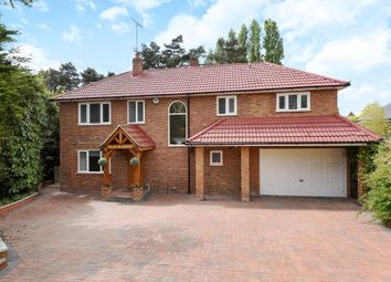 Thumbnail 4 bedroom detached house to rent in Virginia Water, Surrey