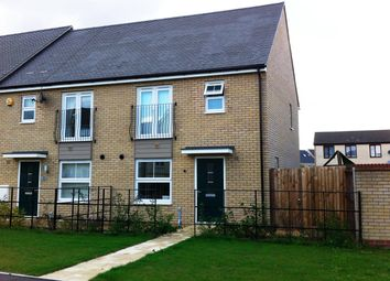 Thumbnail 3 bed property to rent in Sterling Way, Upper Cambourne, Cambridge