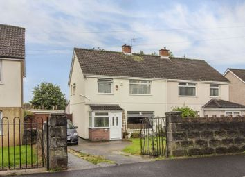 Thumbnail 3 bed semi-detached house for sale in Morfa Crescent, Rumney, Cardiff