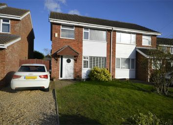 Thumbnail 3 bed semi-detached house for sale in Gardner Close, Raunds, Northamptonshire