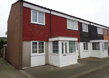 Thumbnail 3 bedroom end terrace house for sale in Sheepclose Drive, Chelmsley Wood, Birmingham