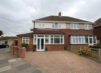Thumbnail 3 bed semi-detached house for sale in Hogarth Avenue, Ashford, Surrey
