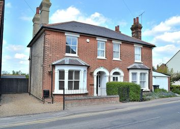 Thumbnail 3 bed semi-detached house for sale in Harlow Road, Roydon, Harlow
