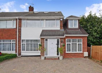 Thumbnail 4 bed semi-detached house for sale in Mount Close, Wickford, Essex