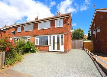 Thumbnail 3 bed semi-detached house for sale in St. Marys Avenue, Braunstone, Leicester