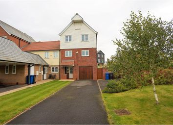 Thumbnail 4 bed end terrace house for sale in Park Lane, Burton Waters