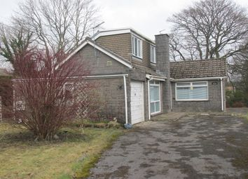 Thumbnail 3 bed detached bungalow for sale in Bryn Amlwg Close, Princetown, Tredegar