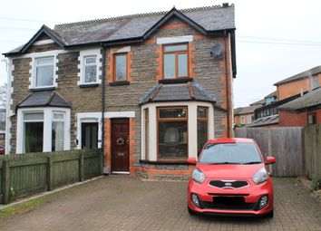 Thumbnail 3 bedroom semi-detached house for sale in Heol Hir, Llanishen, Cardiff