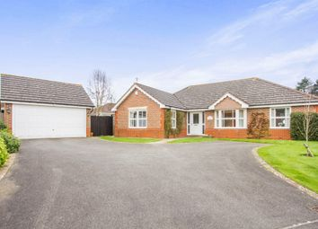 Thumbnail 3 bedroom detached bungalow for sale in Goddard Close, Bushby, Leicester