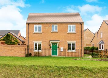 Thumbnail 4 bed detached house for sale in Libertas Drive, Peterborough