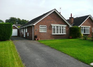 Thumbnail 2 bed bungalow to rent in Blackshaw Close, Congleton, Cheshire
