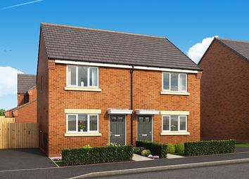 "Thumbnail 2 bed semi-detached house for sale in ""The Levan"" at Harwood Lane, Great Harwood, Blackburn"
