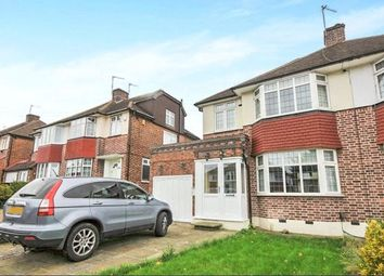 Thumbnail 3 bed semi-detached house to rent in West Hallowes, London