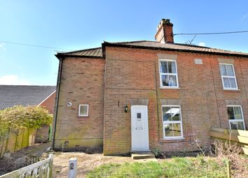 Thumbnail 3 bed semi-detached house to rent in The Street, Swanton Novers, Melton Constable
