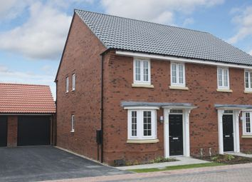 "Thumbnail 3 bedroom end terrace house for sale in ""Oakfield"" at Mount Street, Barrowby Road, Grantham"