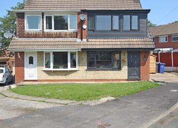 Thumbnail 3 bed semi-detached house for sale in Tewkesbury Close, Accrington