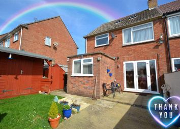Thumbnail 3 bed semi-detached house for sale in Pageant Close, Bradpole, Bridport