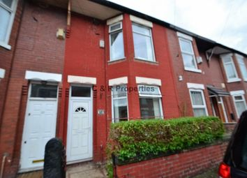 Thumbnail 2 bed terraced house for sale in Rushome., Manchester
