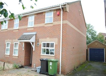 Thumbnail 2 bed semi-detached house to rent in Montgomery Way, King's Lynn