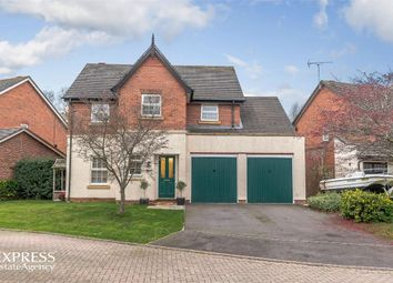 Thumbnail 5 bed detached house for sale in Saltmeadows, Nantwich, Cheshire