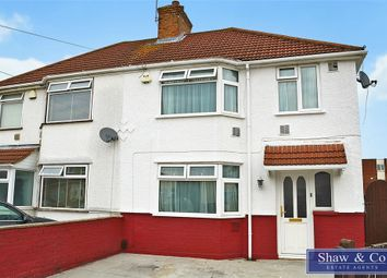 Thumbnail 3 bed semi-detached house for sale in Waye Avenue, Hounslow, Middlesex