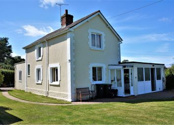 Thumbnail 3 bed detached house for sale in Mappowder, Sturminster Newton