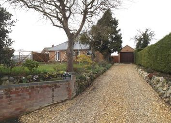 Thumbnail 4 bed bungalow for sale in Swardeston, Norwich, Norfolk