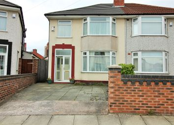 Thumbnail 3 bed semi-detached house for sale in Wensley Road, Orrell Park, Liverpool