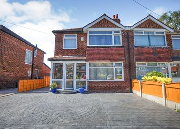 Thumbnail 3 bed semi-detached house for sale in Shelton Avenue, Sale