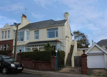 Thumbnail 3 bed flat for sale in Headland Park Road, Paignton