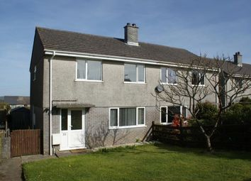 Thumbnail 3 bed semi-detached house for sale in East Taphouse, Liskeard, Cornwall