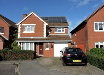 Thumbnail 4 bed detached house to rent in Audret Close, Fareham