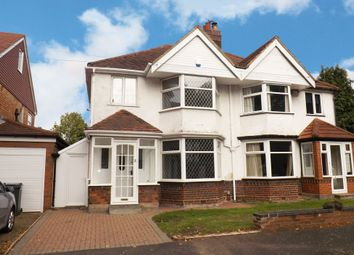 Thumbnail 3 bed semi-detached house for sale in Blackburne Road, Hall Green, Birmingham