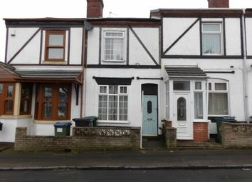 Thumbnail 2 bedroom terraced house for sale in Vernon Road, Oldbury, Birmingham, West Midlands