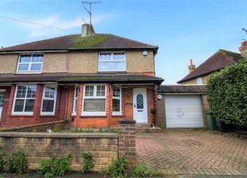Thumbnail 2 bedroom semi-detached house for sale in Arthur Road, Bexhill-On-Sea, East Sussex