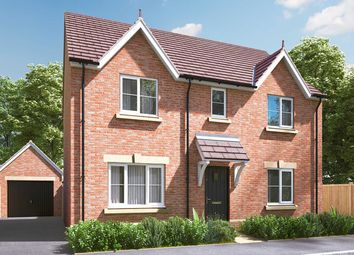 "Thumbnail 4 bed detached house for sale in ""The Leverton"" at Pamington, Tewkesbury"