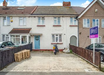 Thumbnail 3 bedroom terraced house for sale in Hampton Crescent, Gravesend