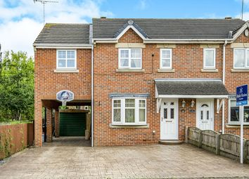 Thumbnail 4 bed semi-detached house for sale in Keats Close, Pontefract