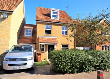 Thumbnail 4 bed link-detached house for sale in Grange Road, Gillingham, Kent