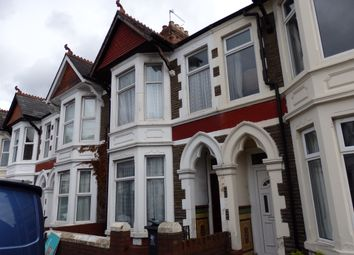 Thumbnail 4 bed terraced house to rent in Heathfield Road, Cardiff