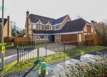 Thumbnail 5 bed detached house to rent in Tryplets, Church Crookham, Fleet
